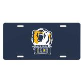 License Plate-New York Tech Bear Head