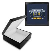 Ebony Black Accessory Box With 6 x 6 Tile-New York Tech Bears