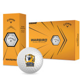 Callaway Warbird Golf Balls 12/pkg-New York Tech Bear Head