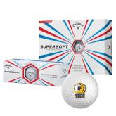 Callaway Supersoft Golf Balls 12/pkg-New York Tech Bear Head