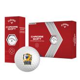 Callaway Chrome Soft Golf Balls 12/pkg-New York Tech Bear Head