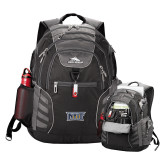 High Sierra Big Wig Black Compu Backpack-NYIT