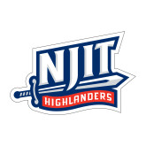 Medium Decal-NJIT Mark, 8 inches tall