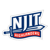 Large Decal-NJIT Mark, 12 inches tall