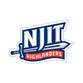 Small Decal-NJIT Mark, 6 inches tall
