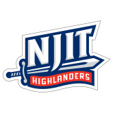 Extra Large Decal-NJIT Mark, 18 inches tall