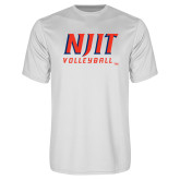 Performance White Tee-Volleyball