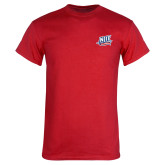 Red T Shirt-NJIT Mark