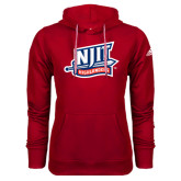 Adidas Climawarm Red Team Issue Hoodie-NJIT Mark