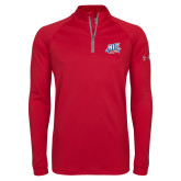 Under Armour Red Tech 1/4 Zip Performance Shirt-NJIT Mark