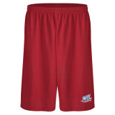 Performance Classic Red 9 Inch Short-NJIT Mark