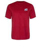 Performance Red Tee-NJIT Mark