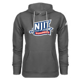 Adidas Climawarm Charcoal Team Issue Hoodie-NJIT Mark
