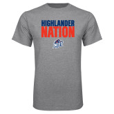 Grey T Shirt-Highlander Nation