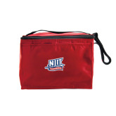 Six Pack Red Cooler-NJIT Mark