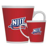 Full Color Latte Mug 12oz-NJIT Mark