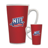 Full Color Latte Mug 17oz-NJIT Mark