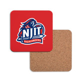 Hardboard Coaster w/Cork Backing-Official Logo