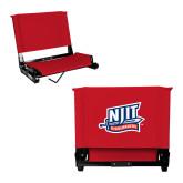 Stadium Chair Red-NJIT Mark