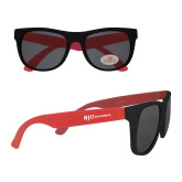 Red Sunglasses-Wordmark Flat