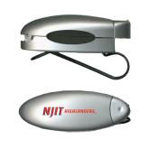 Silver Bullet Clip Sunglass Holder-Wordmark Flat