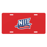 License Plate-NJIT Mark