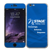 iPhone 6 Skin-Kidney Care Encourage Enhance Empower Stacked