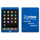 iPad Air 2 Skin-Kidney Care Encourage Enhance Empower Stacked