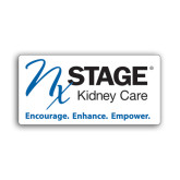 Small Decal-Kidney Care Encourage Enhance Empower, 6 inches wide