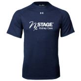 Under Armour Navy Tech Tee-Kidney Care