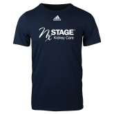 Adidas Navy Logo T Shirt-Kidney Care