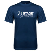Syntrel Performance Navy Tee-Kidney Care