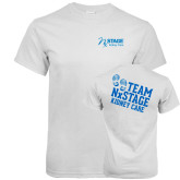 White T Shirt-Kidney Care