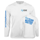 Syntrel Performance White Longsleeve Shirt-Kidney Care