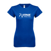 Next Level Ladies SoftStyle Junior Fitted Royal Tee-Kidney Care