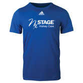 Adidas Royal Logo T Shirt-Kidney Care