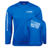 Syntrel Performance Royal Longsleeve Shirt-Kidney Care