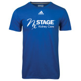 Adidas Climalite Royal Ultimate Performance Tee-Kidney Care