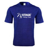 Performance Royal Heather Contender Tee-Kidney Care