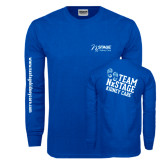 Royal Long Sleeve T Shirt-Kidney Care