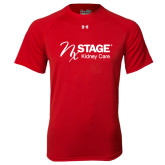 Under Armour Red Tech Tee-Kidney Care