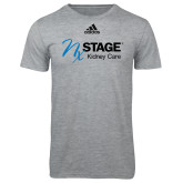 Adidas Sport Grey Logo T Shirt-Kidney Care