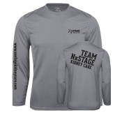 Syntrel Performance Steel Longsleeve Shirt-Kidney Care