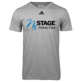 Adidas Climalite Sport Grey Ultimate Performance Tee-Kidney Care