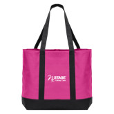Tropical Pink/Dark Charcoal Day Tote-Kidney Care