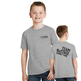 Youth Grey T-Shirt-Kidney Care