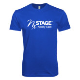 Next Level SoftStyle Royal T Shirt-Kidney Care