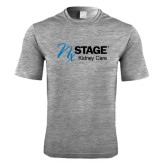 Performance Grey Heather Contender Tee-Kidney Care