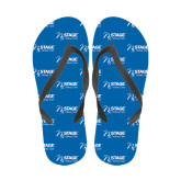 Ladies Full Color Flip Flops-Kidney Care