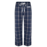 Navy/White Flannel Pajama Pant-Kidney Care